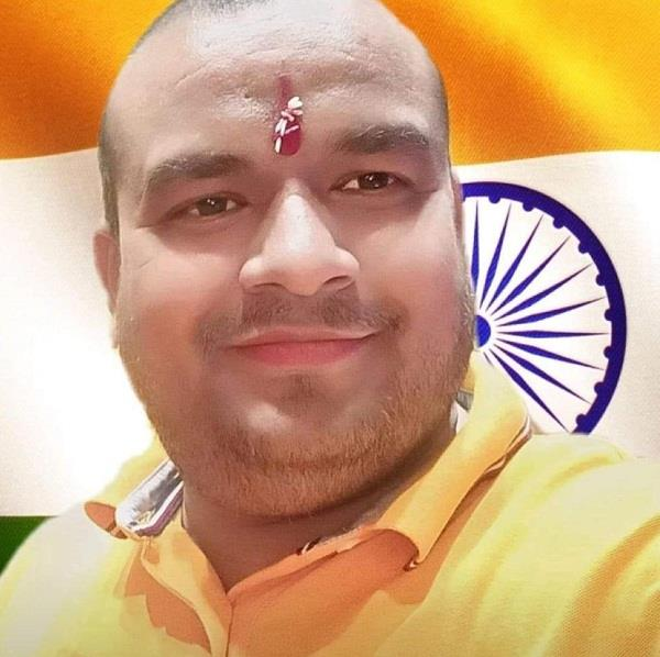 sushil sharma has been appointed district president of bjp