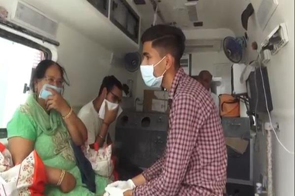 kaithal returned from delhi ca found positive