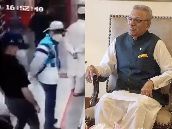 pak president of arif alvi buying ras malai as normal customer