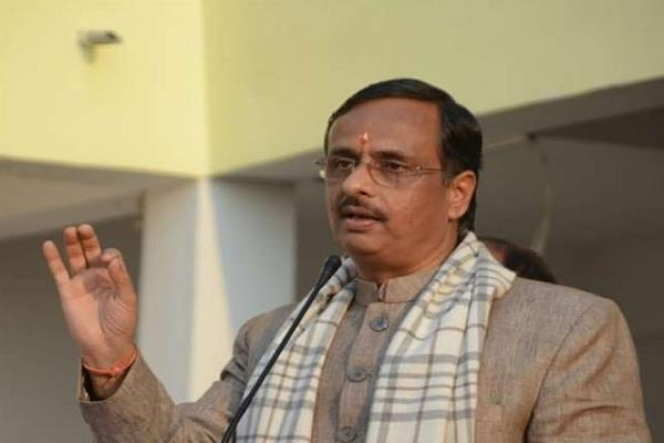 dinesh sharma said to congress about the politics on board the bus