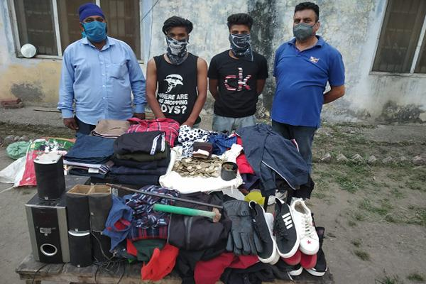 theft cases solved in samba 2 arrest