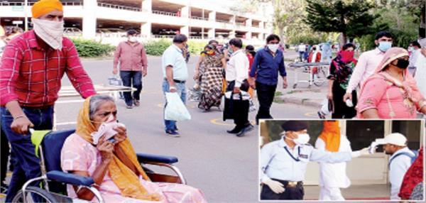 123 patients reached pgi new opd