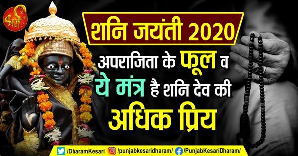 shani jayanti 2020 jyotish upay and mantra in hindi