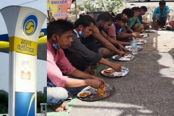 migrant workers got help from bpcl company built mother care