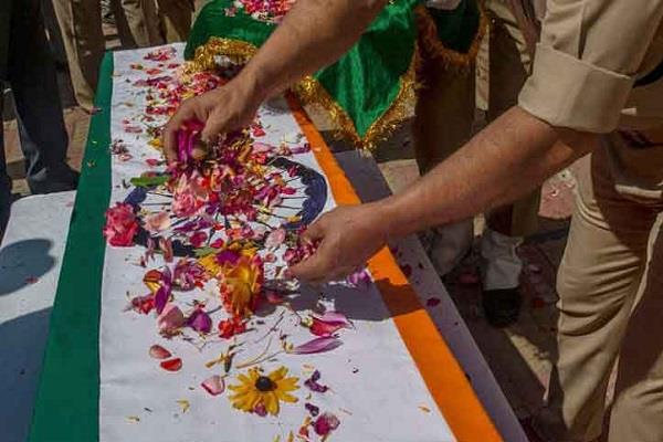 bulandshahr martyr killed in terror attack wave of mourning in village