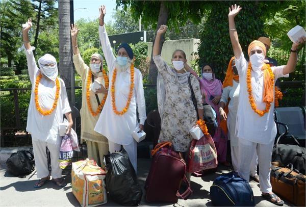 95 devotees returned home defeating corona