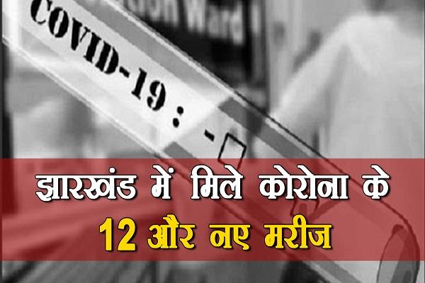 12 positive patients of corona found in 5 districts including ranchi