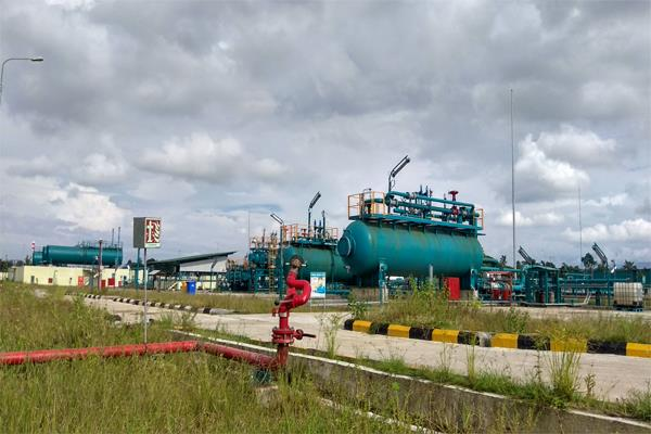 country s gas production decreased by 18 6 in april