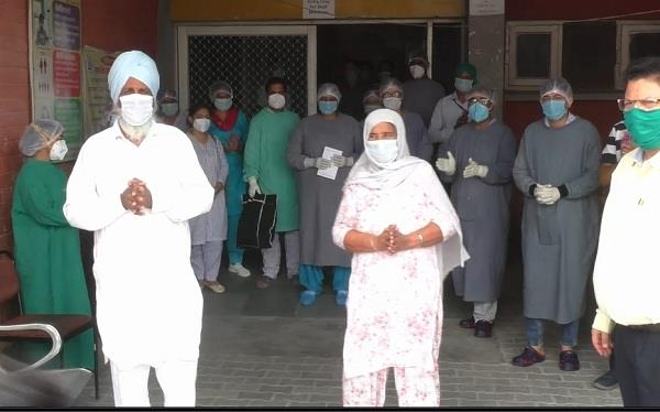report of 2 corona infected patients in sirsa came negative