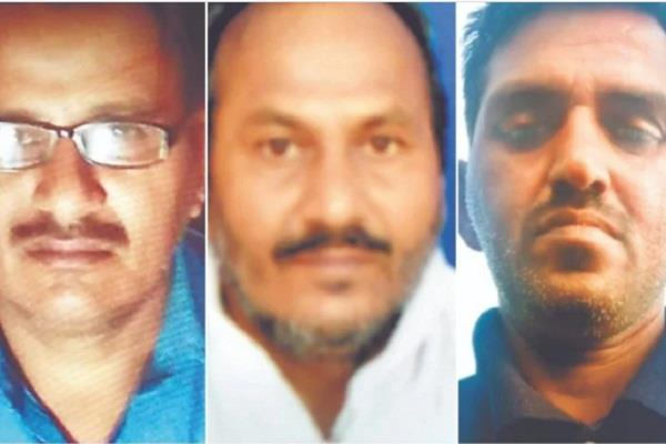 prayagraj three brothers beaten to death in ground dispute