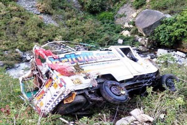 jeep accident in chamba