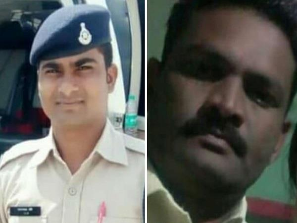 two police guards died in a horrific road accident