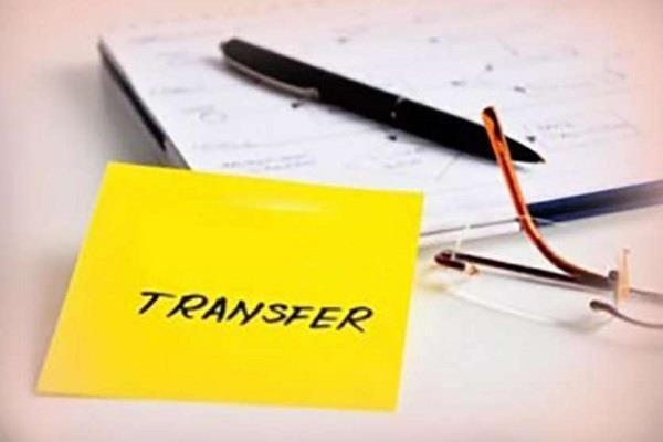 transfer and appointment orders of an ias officer with immediate effect