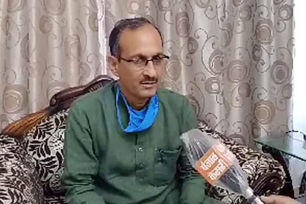 satpal singh satti target on congress