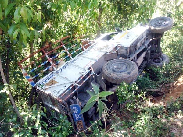 jeep accident in kangra
