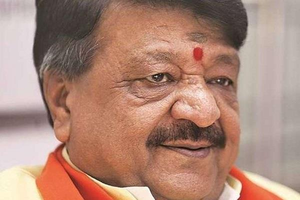 kailash vijayvargiya arrives to convince angry former minister from bjp