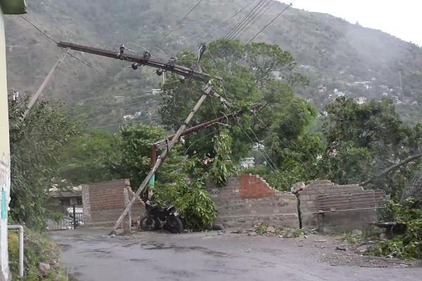 strong storm created havoc in kullu