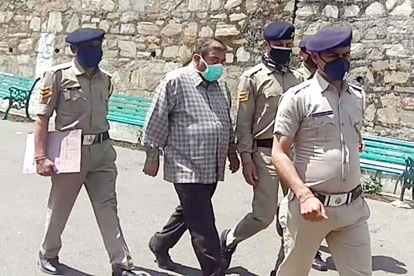 former health director presented in special court sent on 5 days remand