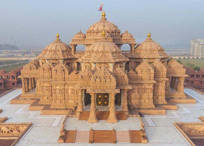 स्वामीनारायण अक्षरधाम मंदिर से जुड़े अनोखे Facts - unique facts related to swaminarayan akshardham temple-mobile