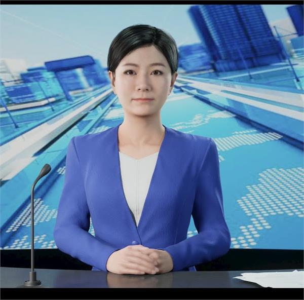china just got its first virtual tv news anchor watch video