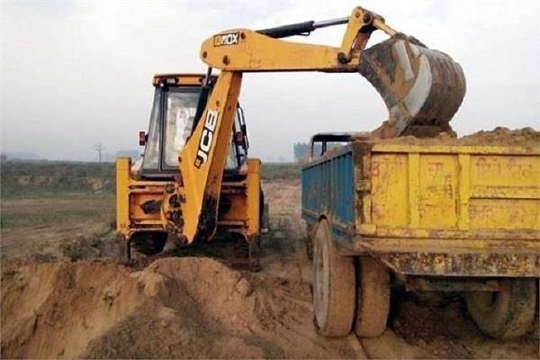 illegal mining dc varinder kumar sharma