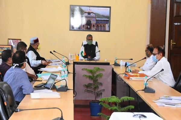 first meeting of  chardham devasthanam board  chaired by cm