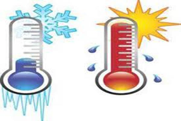temperature rise in jammu on friday