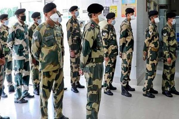 30 bsf jawans brought from delhi to jodhpur were corona infected