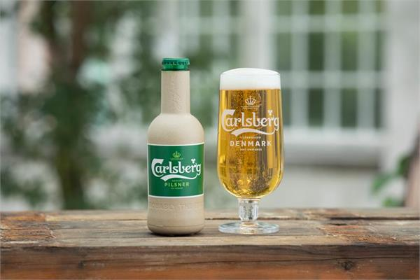 cold drinks and beer will soon be found in paper bottles