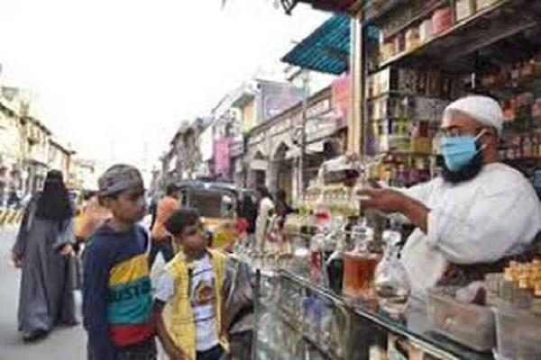 shine of eid market faded due to lockdown