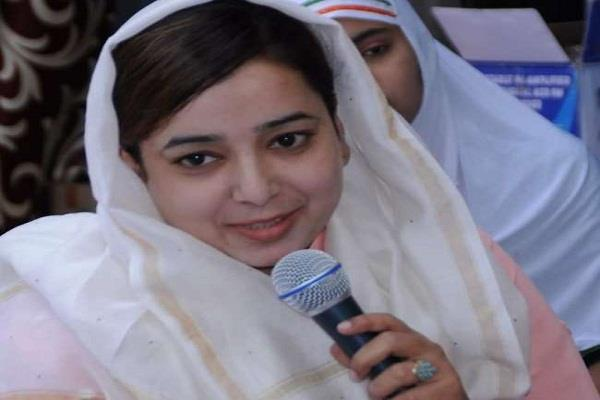 court grants interim bail to former congress councilor ishrat for marriage