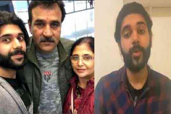 bjp mla s son s viral video mocked india said  hindustan not like
