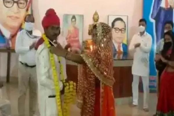 young man falls in love with a begging girl gets married