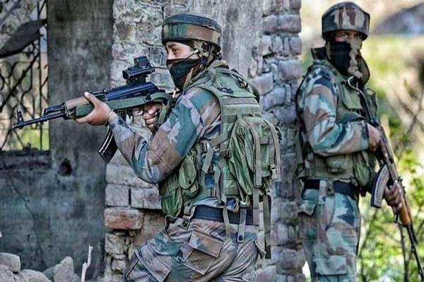 terrorist attack on bsf in srinagar two soldiers martyred