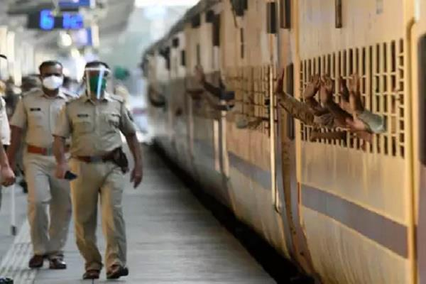 1584 migrant laborers from bihar left by special train from rampur