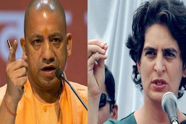 priyanka accuses bjp of doing hate politics says up gov