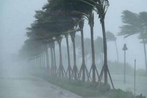 meteorological department issued orange alert in up