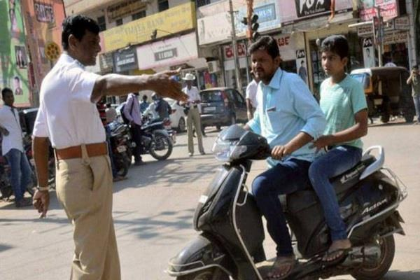 new rules apply for driving on bikes and scooty this relaxation given