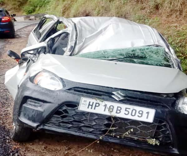 car accident in rohru