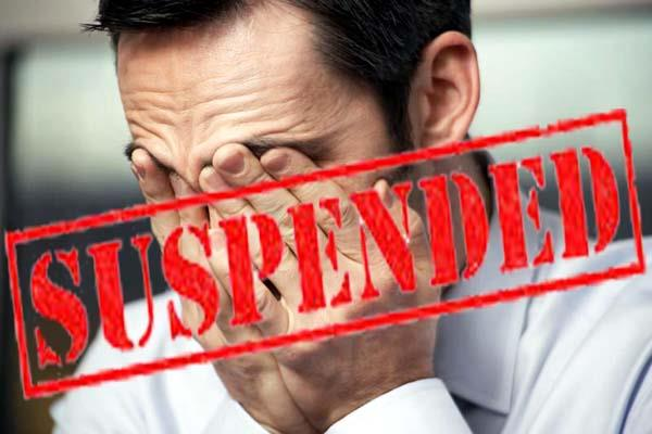 3 pwd officers suspended