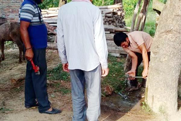 2 tullu pumps and 4 tap seized on drinking water misuse