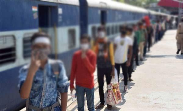 one lakh 80 thousand migrants were sent by special trains to their state
