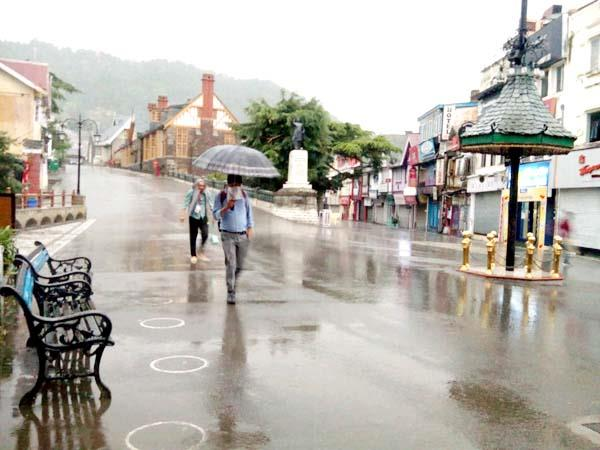 rain and snowfall in himachal