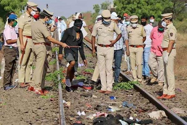 workers arrive home but not alive but as a corpse in special train