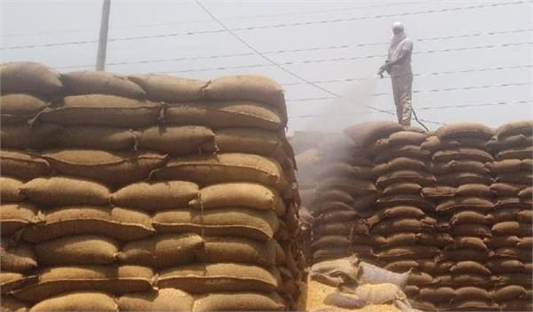 fire in ballabhgarh grain market