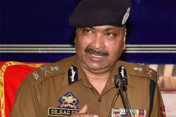 terrorist camp in pak affected by covid 19 kashmiri trainees can be killed dgp