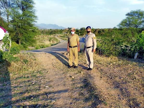 5 thief paths made on the border of haryana