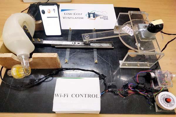 iit mandi prepared smart ventilator in 4 thousand rupees