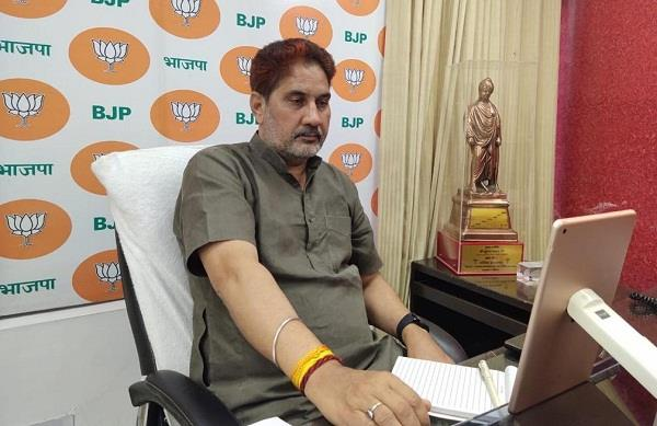 the lockdown made bjp state president subhash barala a high tech