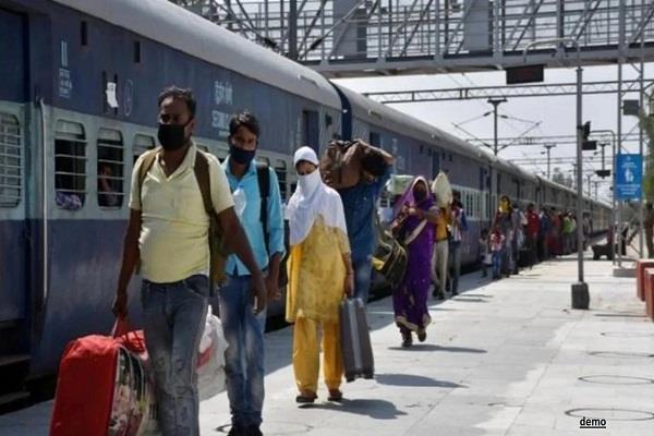 migrant worker dies in shramik special train